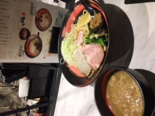 名古屋で、つけ麺
