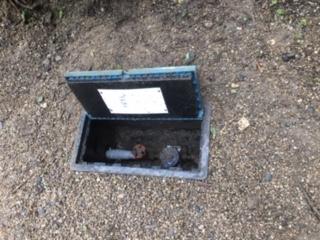 水道計量BOX作業